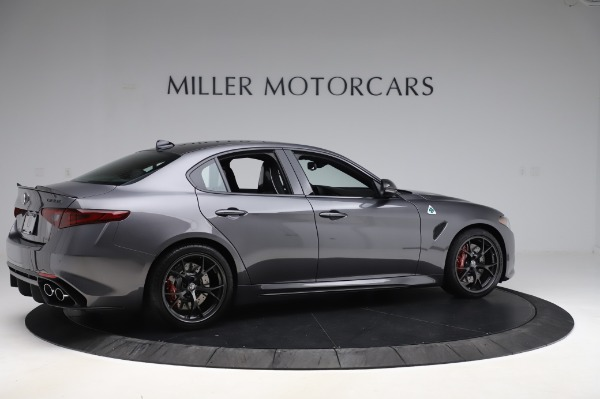 New 2020 Alfa Romeo Giulia Quadrifoglio for sale $87,445 at Bugatti of Greenwich in Greenwich CT 06830 8