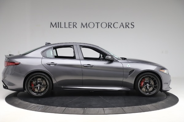 New 2020 Alfa Romeo Giulia Quadrifoglio for sale $87,445 at Bugatti of Greenwich in Greenwich CT 06830 9