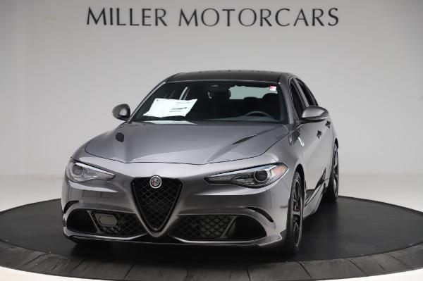 New 2020 Alfa Romeo Giulia Quadrifoglio for sale $87,445 at Bugatti of Greenwich in Greenwich CT 06830 1