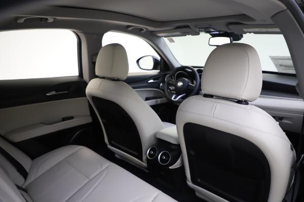 New 2020 Alfa Romeo Stelvio Ti Q4 for sale $50,895 at Bugatti of Greenwich in Greenwich CT 06830 25