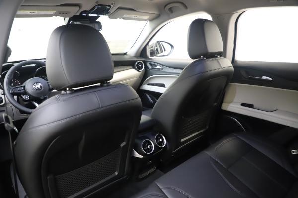 New 2020 Alfa Romeo Stelvio Q4 for sale $47,395 at Bugatti of Greenwich in Greenwich CT 06830 20