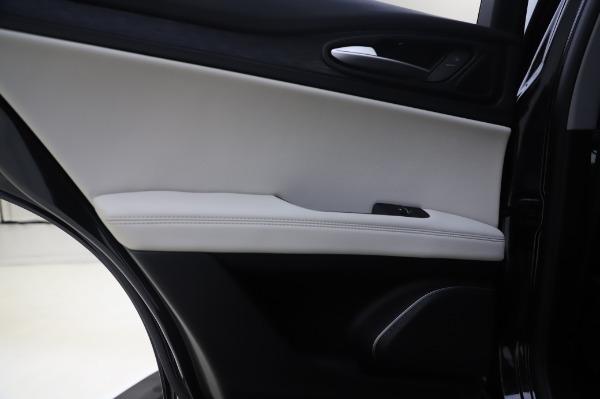 New 2020 Alfa Romeo Stelvio Q4 for sale $47,395 at Bugatti of Greenwich in Greenwich CT 06830 21