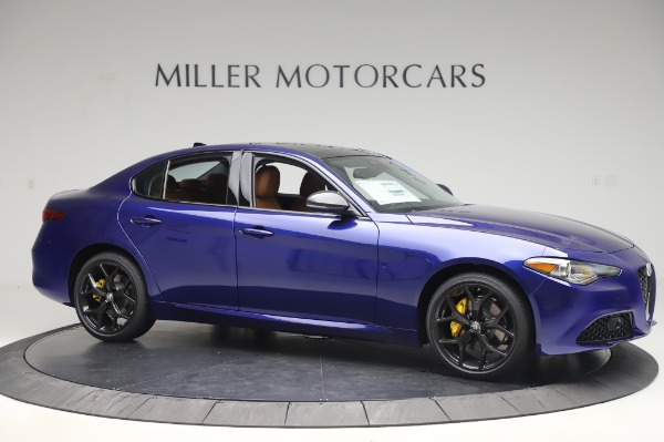 New 2020 Alfa Romeo Giulia Q4 for sale $47,845 at Bugatti of Greenwich in Greenwich CT 06830 10