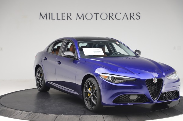 New 2020 Alfa Romeo Giulia Q4 for sale $47,845 at Bugatti of Greenwich in Greenwich CT 06830 11