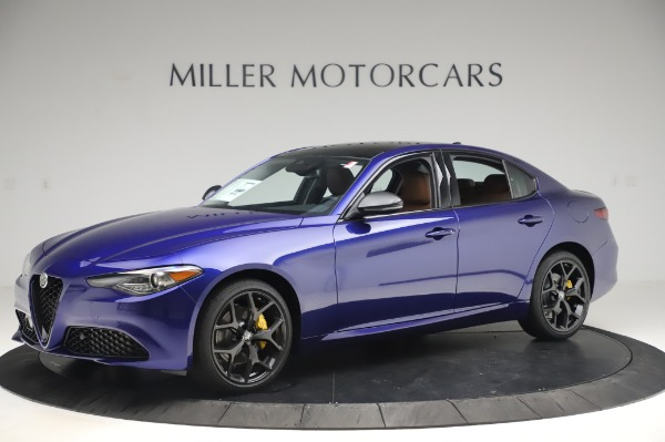 New 2020 Alfa Romeo Giulia Q4 for sale $47,845 at Bugatti of Greenwich in Greenwich CT 06830 2