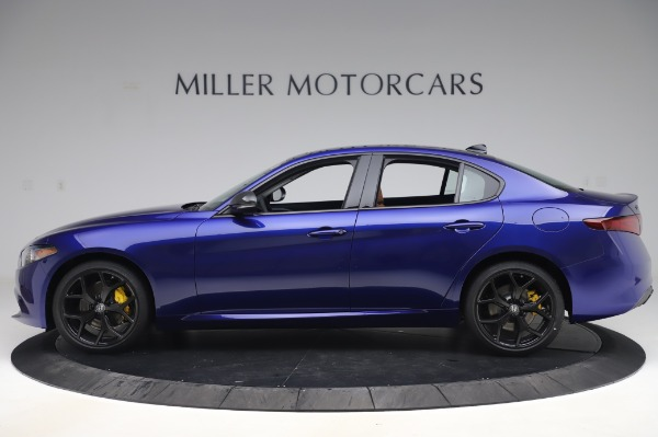 New 2020 Alfa Romeo Giulia Q4 for sale $47,845 at Bugatti of Greenwich in Greenwich CT 06830 3