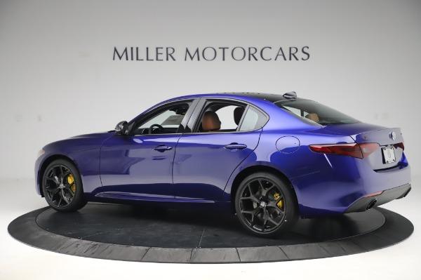 New 2020 Alfa Romeo Giulia Q4 for sale $47,845 at Bugatti of Greenwich in Greenwich CT 06830 4