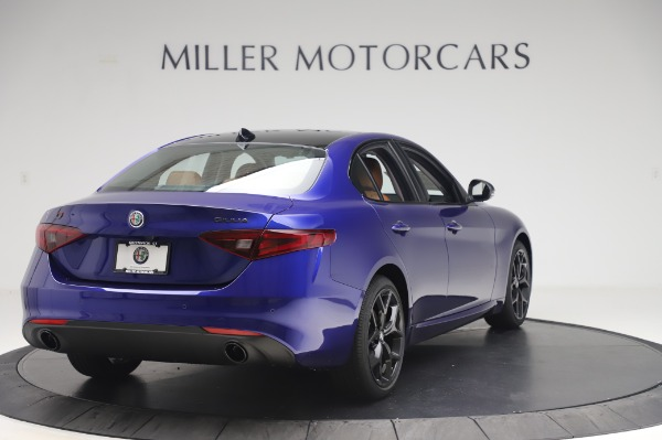 New 2020 Alfa Romeo Giulia Q4 for sale $47,845 at Bugatti of Greenwich in Greenwich CT 06830 7