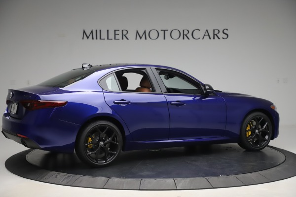 New 2020 Alfa Romeo Giulia Q4 for sale $47,845 at Bugatti of Greenwich in Greenwich CT 06830 8