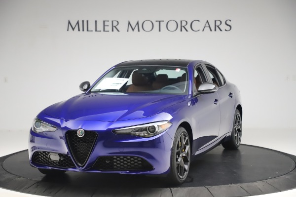 New 2020 Alfa Romeo Giulia Q4 for sale $47,845 at Bugatti of Greenwich in Greenwich CT 06830 1