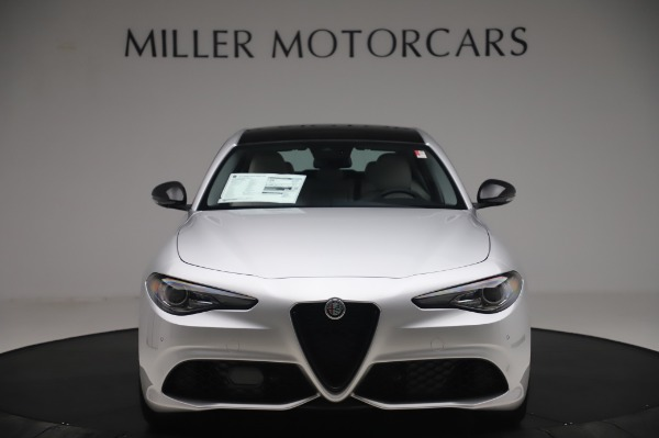 New 2020 Alfa Romeo Giulia Sport Q4 for sale $48,795 at Bugatti of Greenwich in Greenwich CT 06830 12