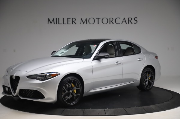 New 2020 Alfa Romeo Giulia Sport Q4 for sale $48,795 at Bugatti of Greenwich in Greenwich CT 06830 2