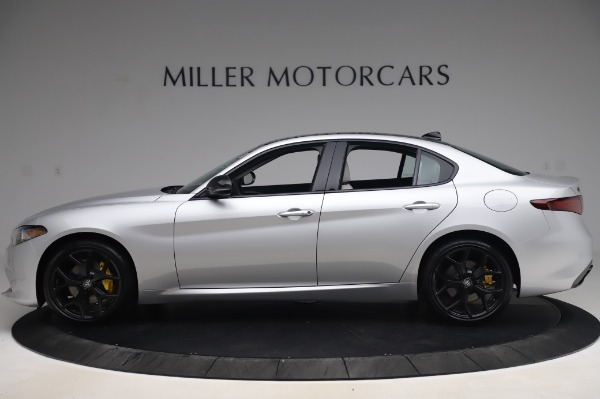 New 2020 Alfa Romeo Giulia Sport Q4 for sale $48,795 at Bugatti of Greenwich in Greenwich CT 06830 3