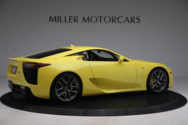 Used 2012 Lexus LFA for sale $509,900 at Bugatti of Greenwich in Greenwich CT 06830 8