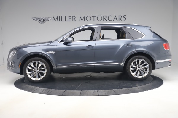 Used 2017 Bentley Bentayga W12 for sale Call for price at Bugatti of Greenwich in Greenwich CT 06830 3