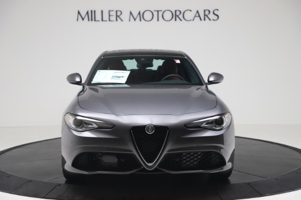 New 2020 Alfa Romeo Giulia Ti Sport Q4 for sale $55,695 at Bugatti of Greenwich in Greenwich CT 06830 12