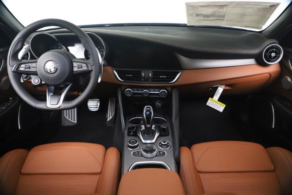 New 2020 Alfa Romeo Giulia Ti Sport Q4 for sale $55,695 at Bugatti of Greenwich in Greenwich CT 06830 16