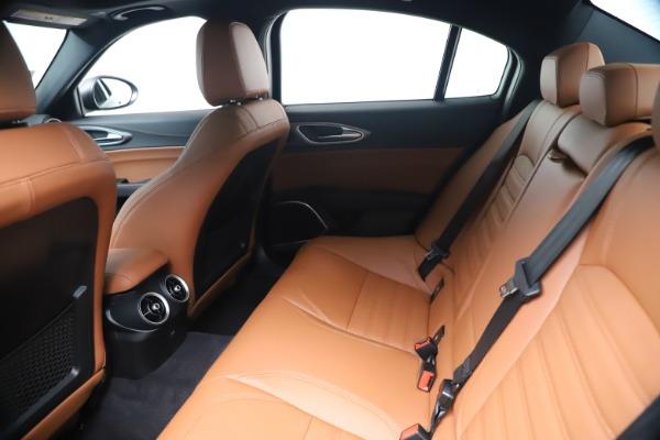 New 2020 Alfa Romeo Giulia Ti Sport Q4 for sale $55,695 at Bugatti of Greenwich in Greenwich CT 06830 19