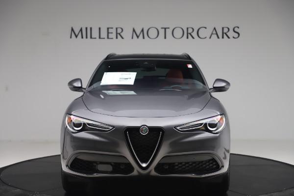 New 2020 Alfa Romeo Stelvio Sport Q4 for sale $50,945 at Bugatti of Greenwich in Greenwich CT 06830 12