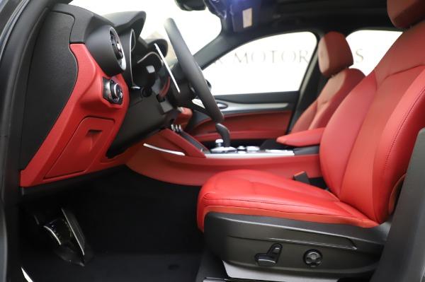 New 2020 Alfa Romeo Stelvio Sport Q4 for sale $50,945 at Bugatti of Greenwich in Greenwich CT 06830 14