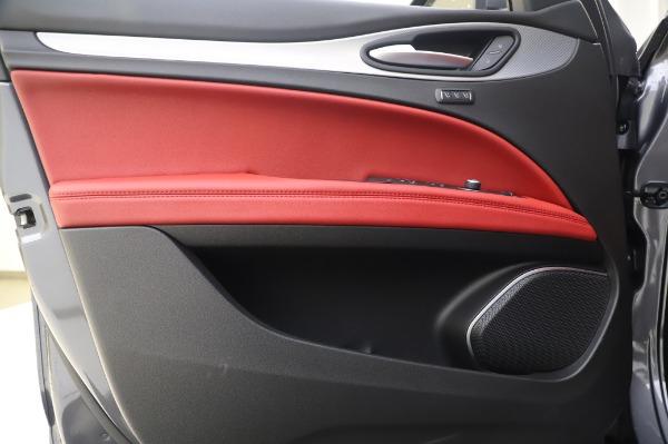 New 2020 Alfa Romeo Stelvio Sport Q4 for sale $50,945 at Bugatti of Greenwich in Greenwich CT 06830 17