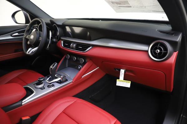 New 2020 Alfa Romeo Stelvio Sport Q4 for sale $50,945 at Bugatti of Greenwich in Greenwich CT 06830 19