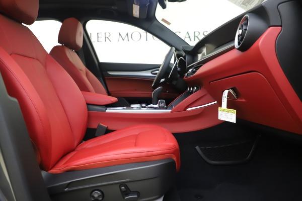 New 2020 Alfa Romeo Stelvio Sport Q4 for sale $50,945 at Bugatti of Greenwich in Greenwich CT 06830 20