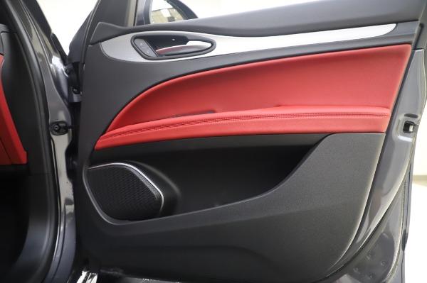 New 2020 Alfa Romeo Stelvio Sport Q4 for sale $50,945 at Bugatti of Greenwich in Greenwich CT 06830 21