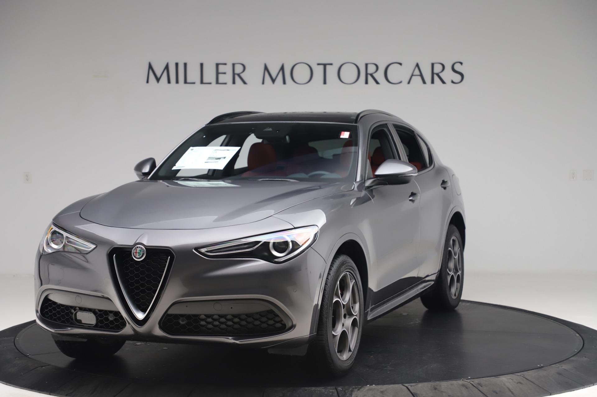 New 2020 Alfa Romeo Stelvio Sport Q4 for sale $50,945 at Bugatti of Greenwich in Greenwich CT 06830 1