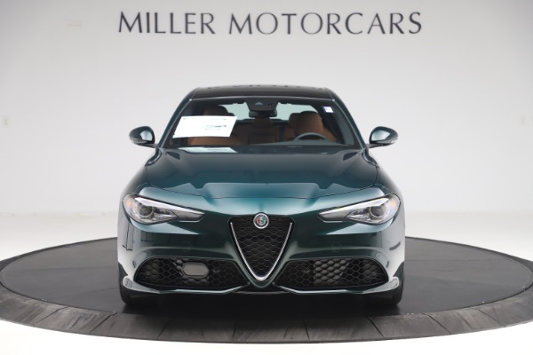 New 2020 Alfa Romeo Giulia Q4 for sale $46,995 at Bugatti of Greenwich in Greenwich CT 06830 1