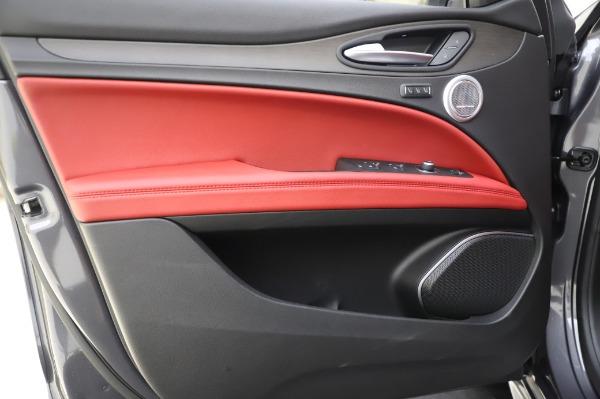 New 2020 Alfa Romeo Stelvio Ti Q4 for sale Sold at Bugatti of Greenwich in Greenwich CT 06830 19