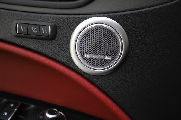 New 2020 Alfa Romeo Stelvio Ti Q4 for sale Sold at Bugatti of Greenwich in Greenwich CT 06830 20