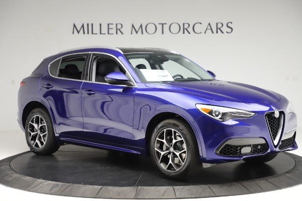 New 2020 Alfa Romeo Stelvio Ti Q4 for sale $50,695 at Bugatti of Greenwich in Greenwich CT 06830 10