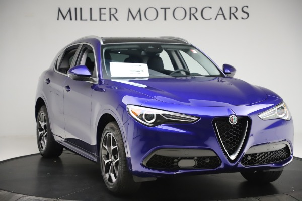 New 2020 Alfa Romeo Stelvio Ti Q4 for sale $50,695 at Bugatti of Greenwich in Greenwich CT 06830 11