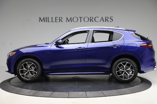 New 2020 Alfa Romeo Stelvio Ti Q4 for sale $50,695 at Bugatti of Greenwich in Greenwich CT 06830 3