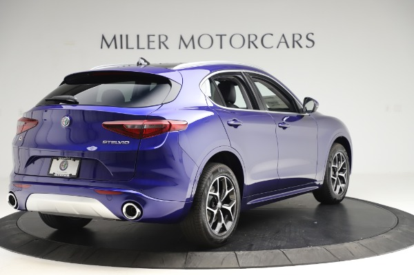 New 2020 Alfa Romeo Stelvio Ti Q4 for sale $50,695 at Bugatti of Greenwich in Greenwich CT 06830 7