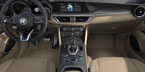 New 2020 Alfa Romeo Stelvio Ti Lusso Q4 for sale $54,745 at Bugatti of Greenwich in Greenwich CT 06830 4