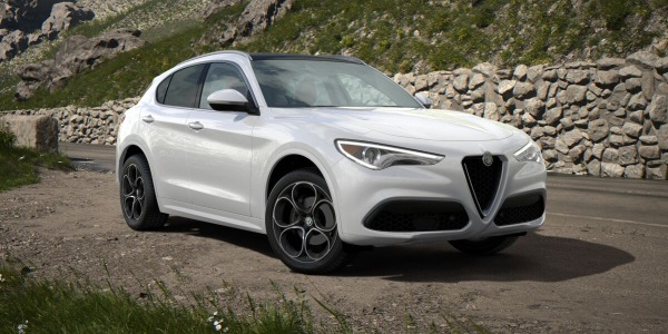 New 2020 Alfa Romeo Stelvio Ti Lusso Q4 for sale $54,145 at Bugatti of Greenwich in Greenwich CT 06830 2