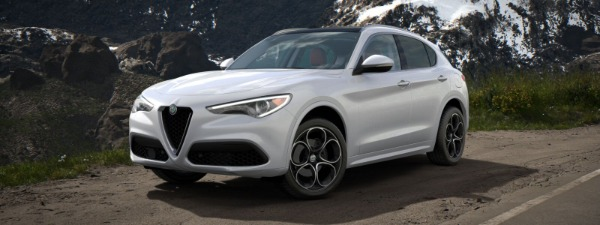 New 2020 Alfa Romeo Stelvio Ti Lusso Q4 for sale $54,145 at Bugatti of Greenwich in Greenwich CT 06830 1