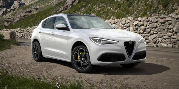 New 2020 Alfa Romeo Stelvio Ti Lusso Q4 for sale $55,045 at Bugatti of Greenwich in Greenwich CT 06830 2