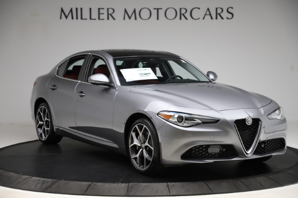New 2020 Alfa Romeo Giulia Ti Q4 for sale Sold at Bugatti of Greenwich in Greenwich CT 06830 11