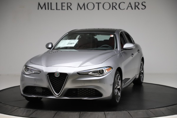 New 2020 Alfa Romeo Giulia Ti Q4 for sale Sold at Bugatti of Greenwich in Greenwich CT 06830 1