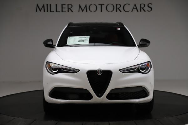 New 2020 Alfa Romeo Stelvio Ti Sport Q4 for sale $54,345 at Bugatti of Greenwich in Greenwich CT 06830 12