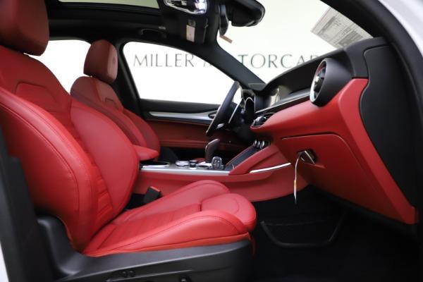 New 2020 Alfa Romeo Stelvio Ti Sport Q4 for sale $54,345 at Bugatti of Greenwich in Greenwich CT 06830 25