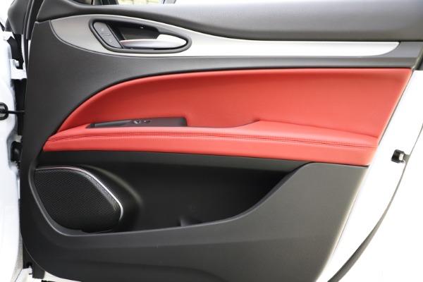 New 2020 Alfa Romeo Stelvio Ti Sport Q4 for sale $54,345 at Bugatti of Greenwich in Greenwich CT 06830 27