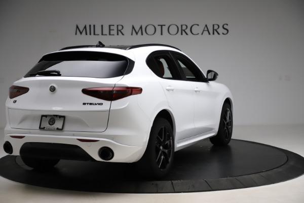 New 2020 Alfa Romeo Stelvio Ti Sport Q4 for sale $54,345 at Bugatti of Greenwich in Greenwich CT 06830 7