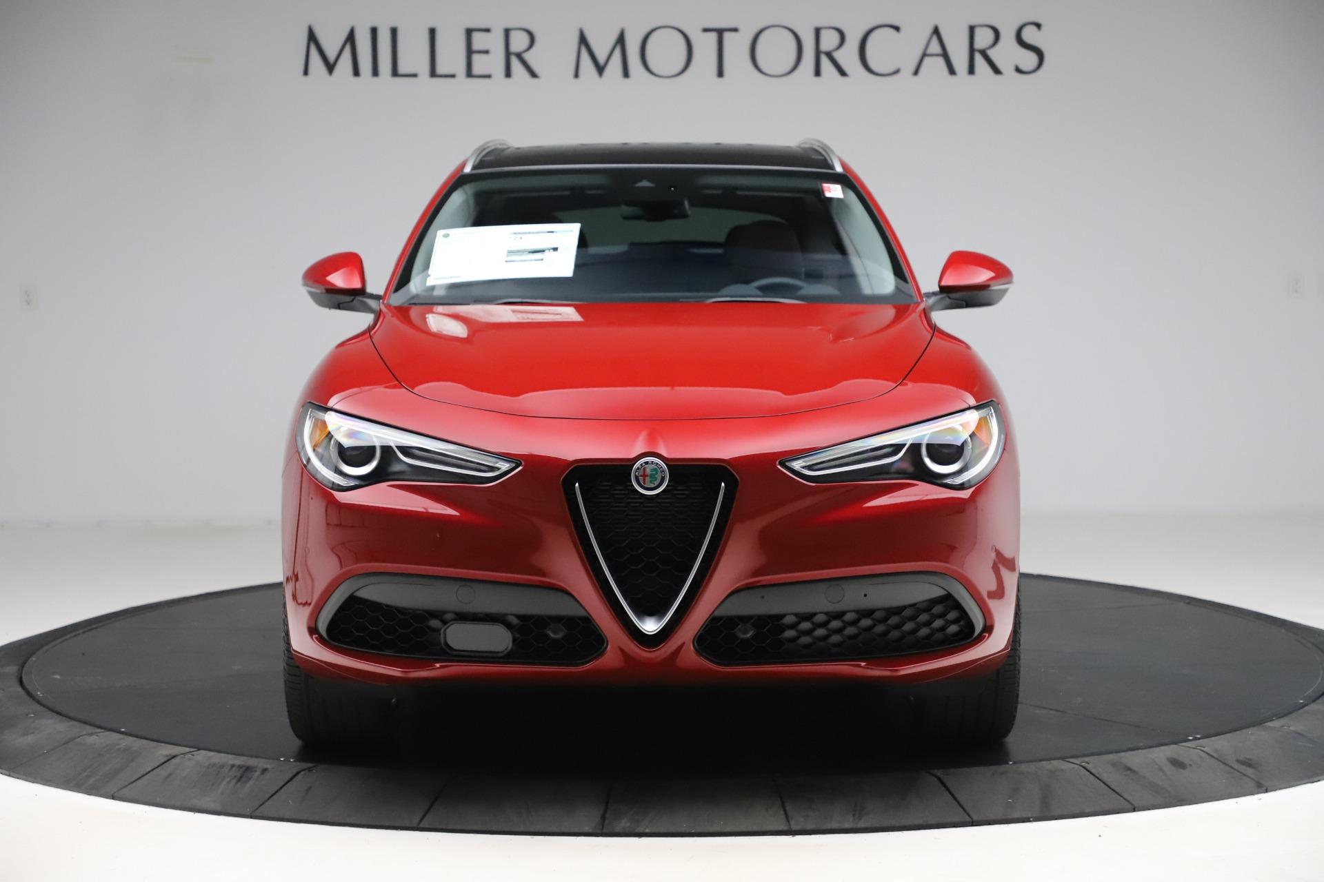 New 2020 Alfa Romeo Stelvio Ti Lusso Q4 for sale $56,495 at Bugatti of Greenwich in Greenwich CT 06830 1