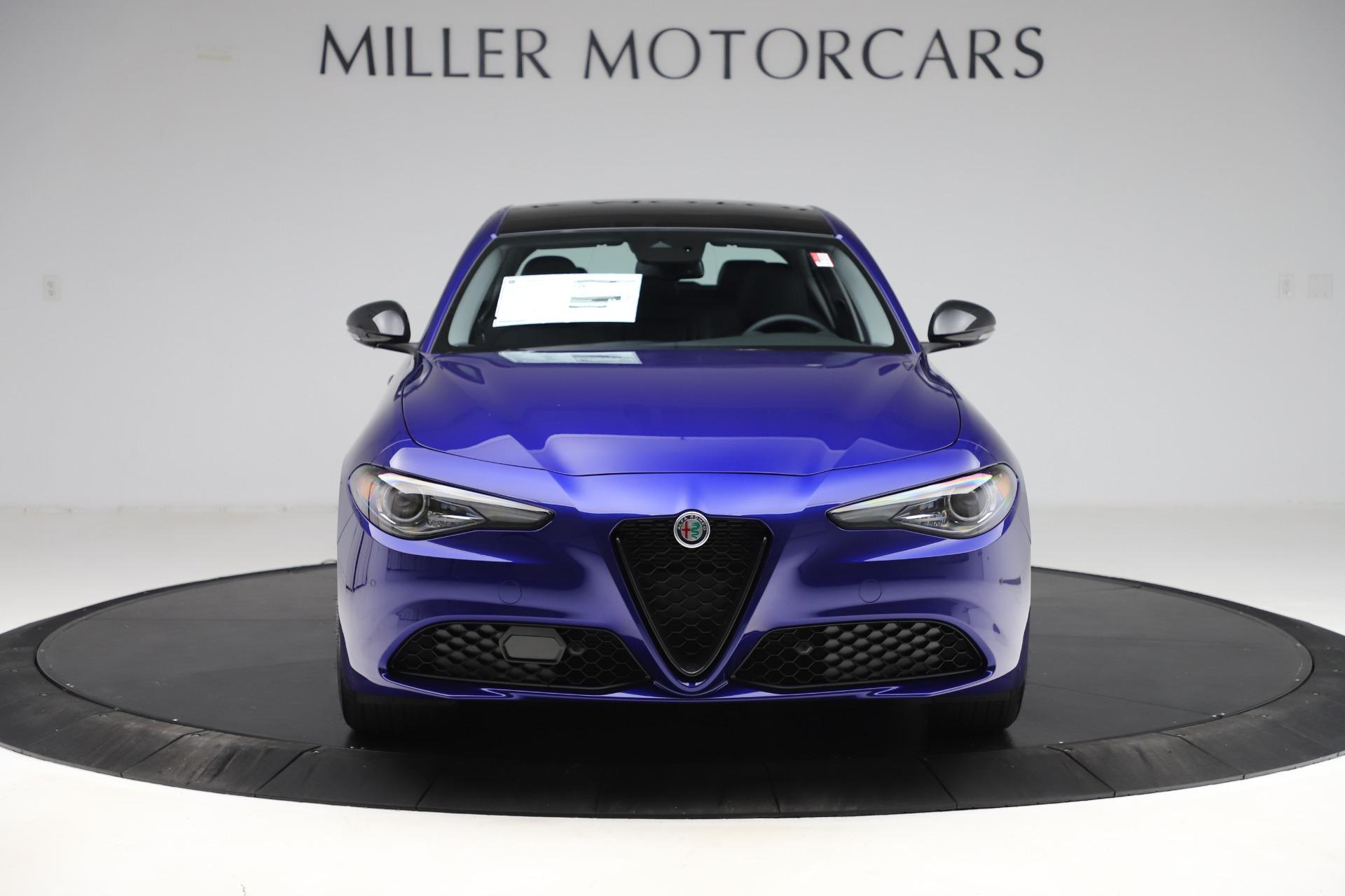 New 2020 Alfa Romeo Giulia Ti Sport Q4 for sale $52,995 at Bugatti of Greenwich in Greenwich CT 06830 1