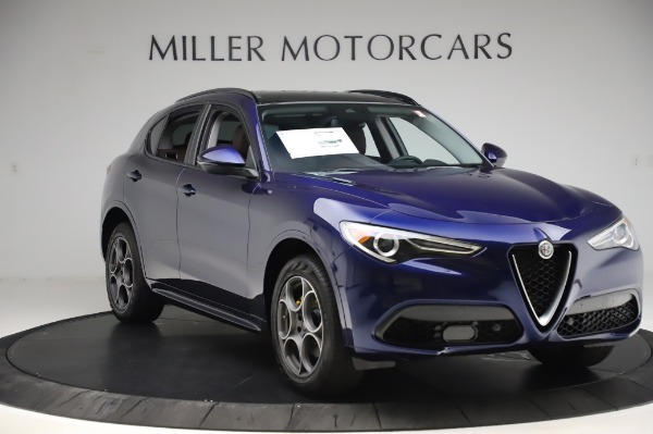 New 2020 Alfa Romeo Stelvio Sport Q4 for sale Sold at Bugatti of Greenwich in Greenwich CT 06830 11
