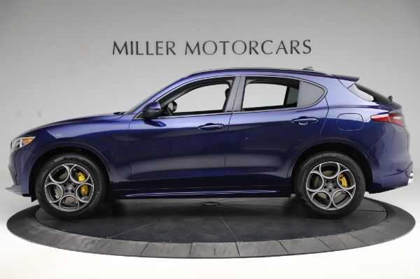 New 2020 Alfa Romeo Stelvio Sport Q4 for sale Sold at Bugatti of Greenwich in Greenwich CT 06830 3